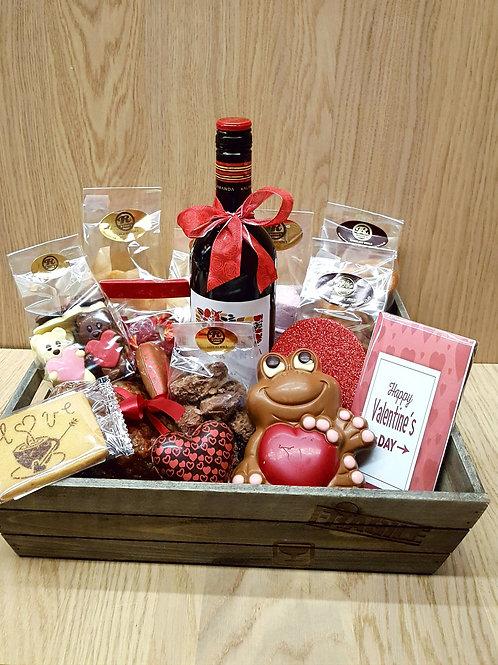 Luxe valentijn koffer