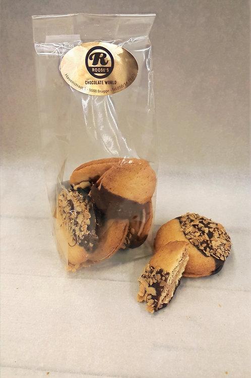 Praliné koekje met feuiletine