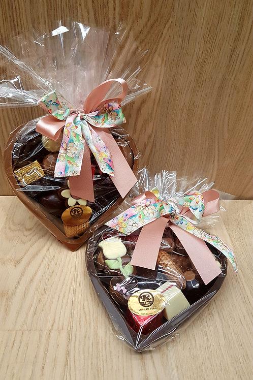 Chocolade Hart met pralines