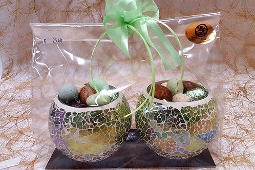 Glitterglas bonbonniere