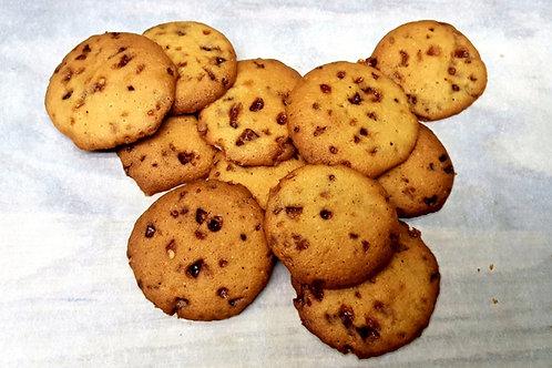 Gezouten caramel koekje