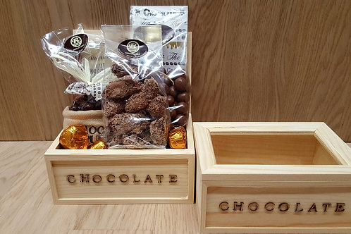Houten kist Chocolate