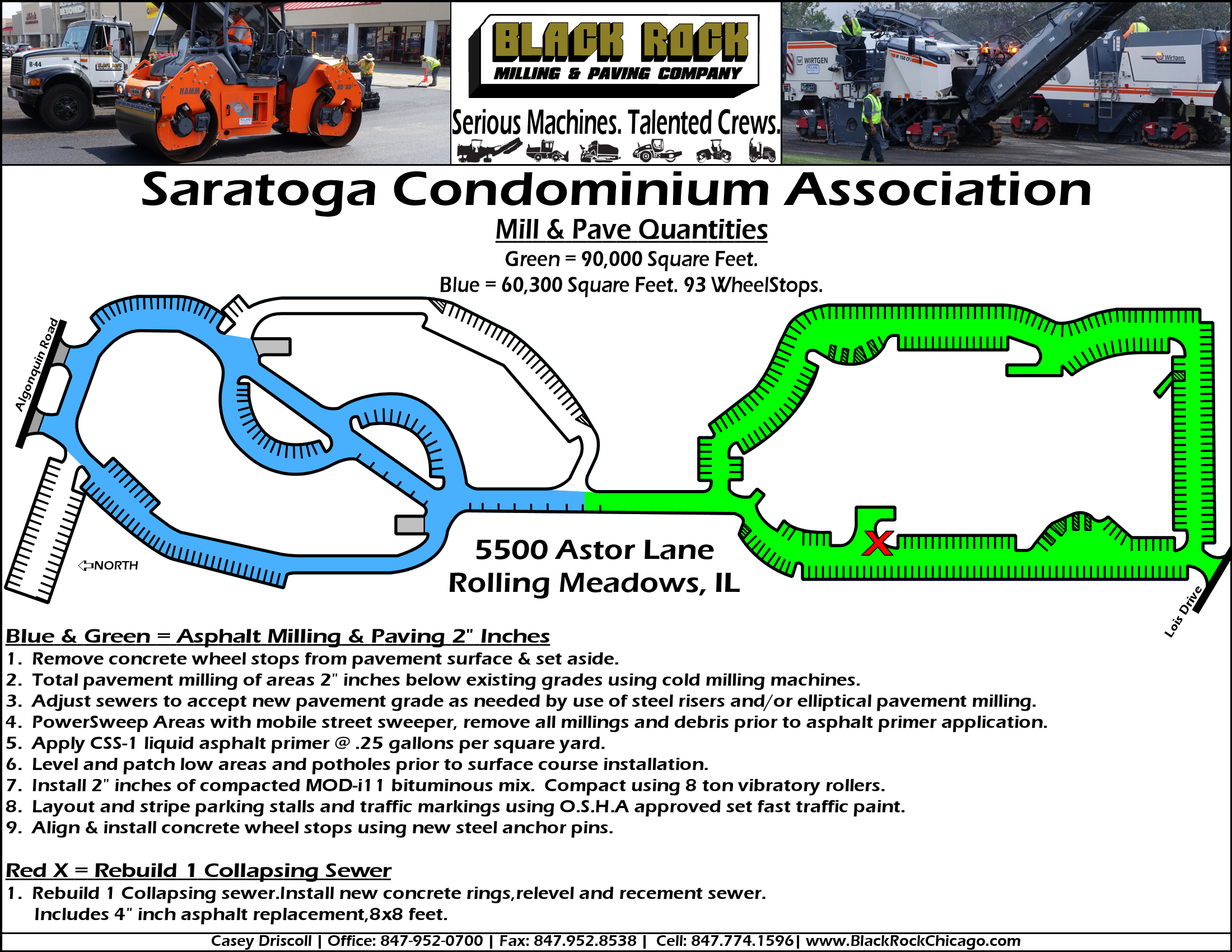 Saratoga Paving Plan