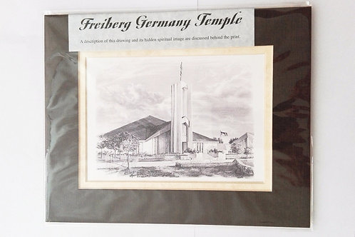 Bild - Freiberg Tempel MIT Rahmen