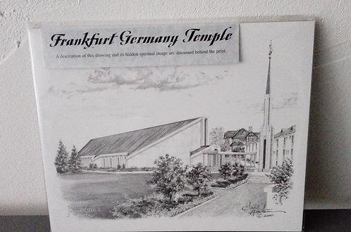Bild - Frankfurt Tempel OHNE Rahmen