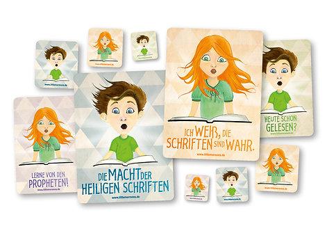 Sticker-Heilige Schriften