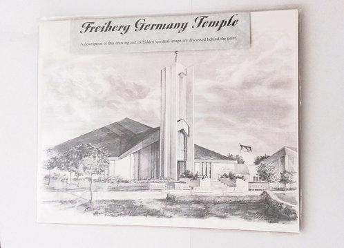 Bild - Freiberg Tempel OHNE Rahmen