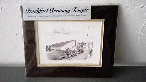 Bild - Frankfurt Tempel MIT Rahmen