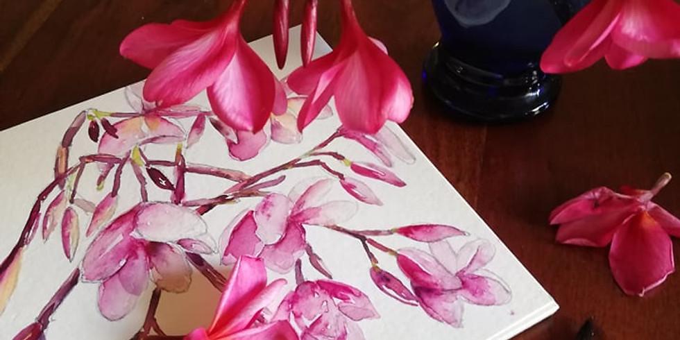 Cours de débutants en aquarelle en février