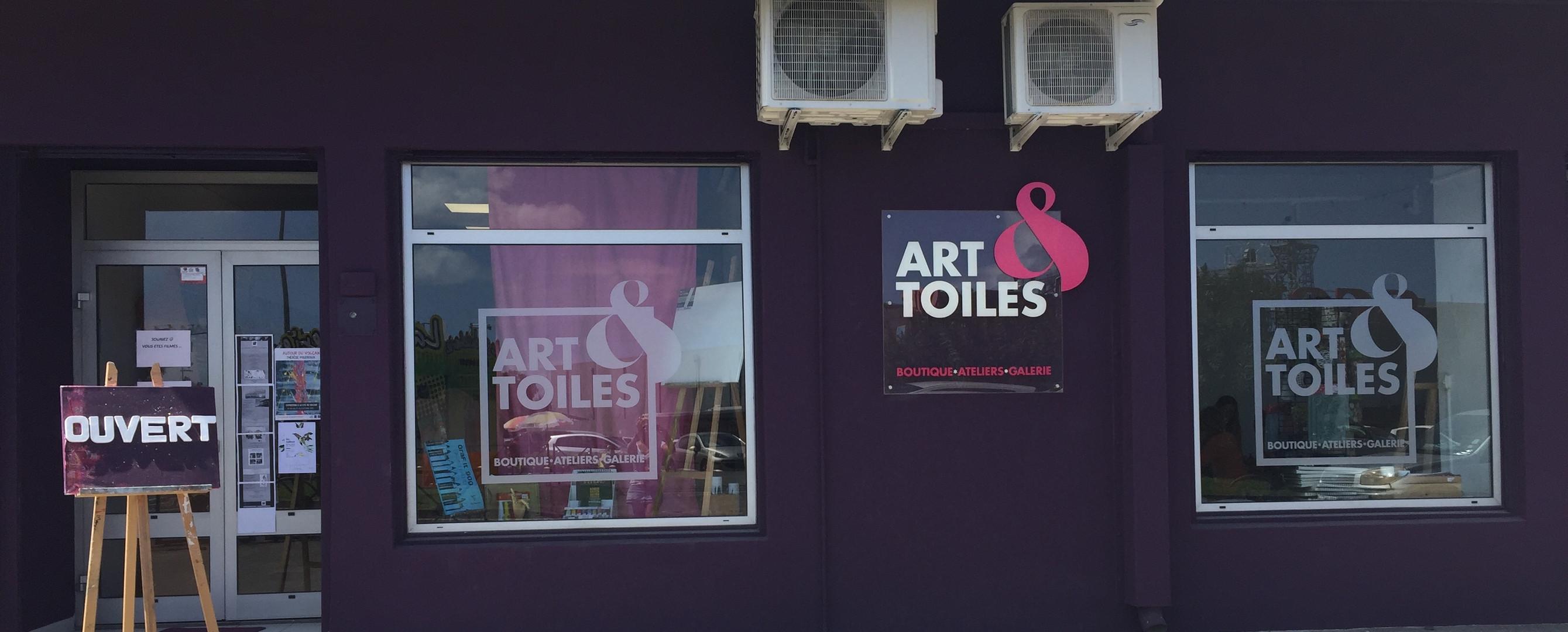 Vitrine Art & toiles