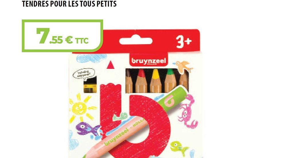 Crayons de couleurs pour les touts petits