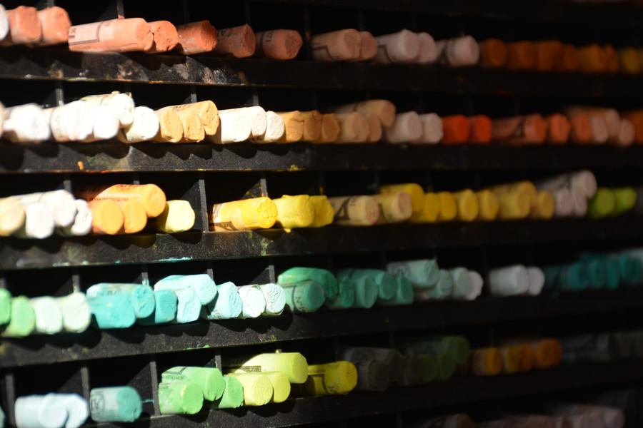 Pastels à l'écu Sennelier