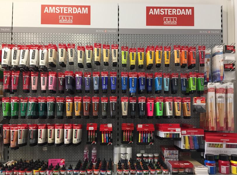 Peinture acrylique fine Amsterdam
