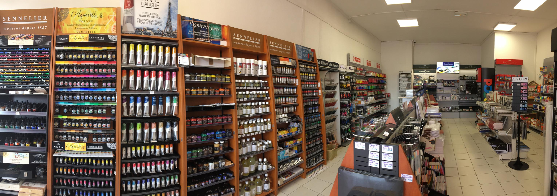 Intérieur de la boutique