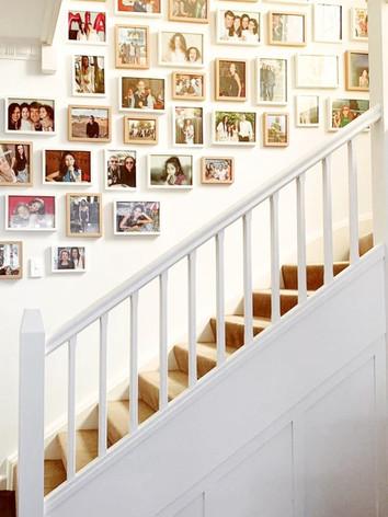 Frame arrangements and installation.