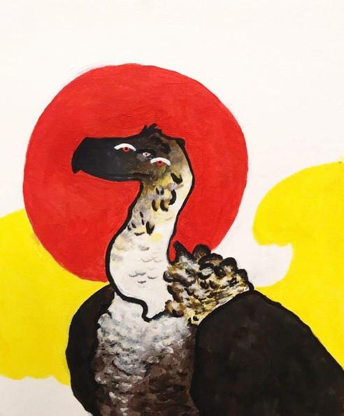 Vulture Study No. 1
