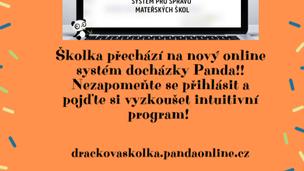Nový online systém ve školce!