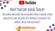 YouTube kanál školky