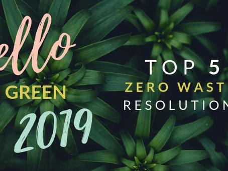 Top 5 zero-waste New Year Resolutions