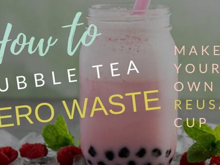 How-to bubble tea zero-waste