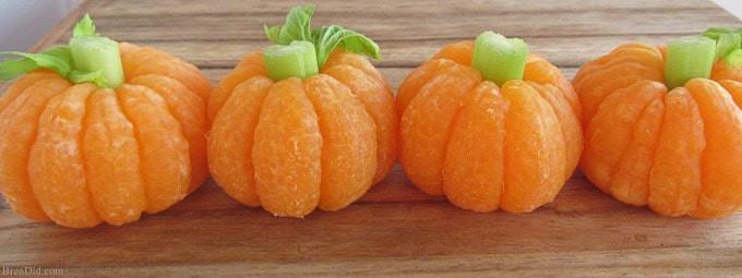 zero waste halloween tangerine pumpkin singapore
