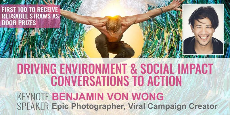Ben Von Wong talking about driving environment and social impact