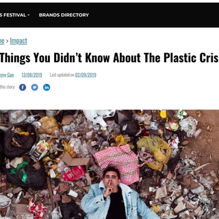 6 Things You Didn't Know Abou The Plastic Crisis
