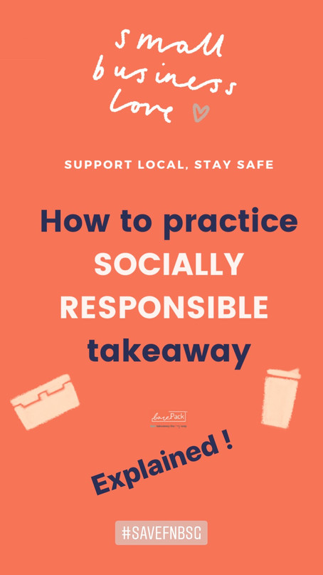 barePack, BYO and social responsibility in times of Covid19