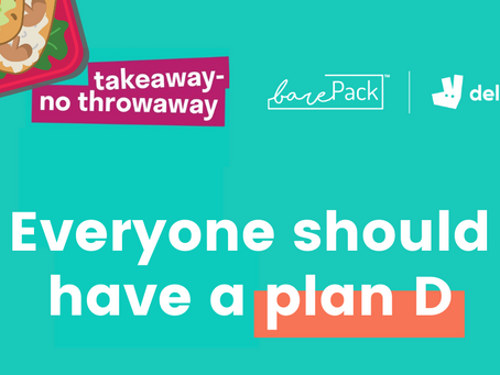 barePack x Deliveroo: Sustainable food delivery to the rescue