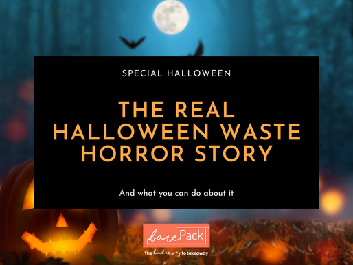 The real halloween waste horror story