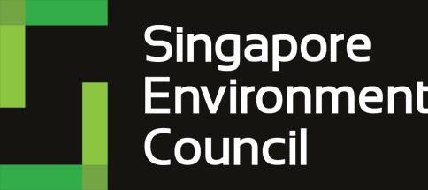The SEC Singapore Environment council logo