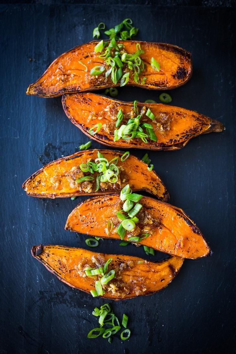 Kyoto style sweet potatoes