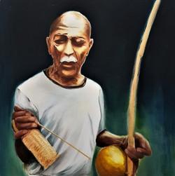 Mestre Pastinha - acrylic on canvas 80x8