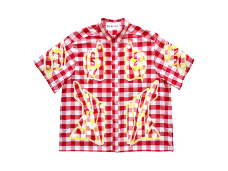 Another #MaxMollison Gingham Motocross Co-ord Picnic Style