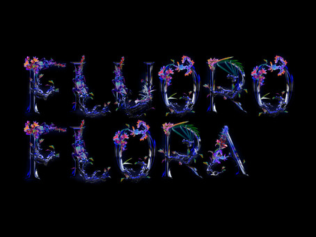 Fluoroflora Typeface for FUTURE PROOF