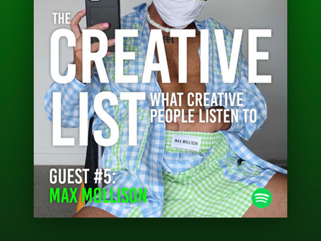 I'm On The Creative List On Spotify!