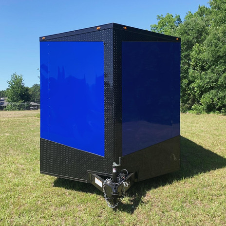 GORGEOUS BLUE/BLACK-OUT PACAKGE
