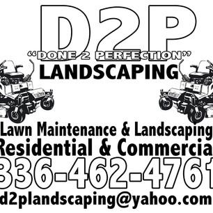 D2P Landscaping
