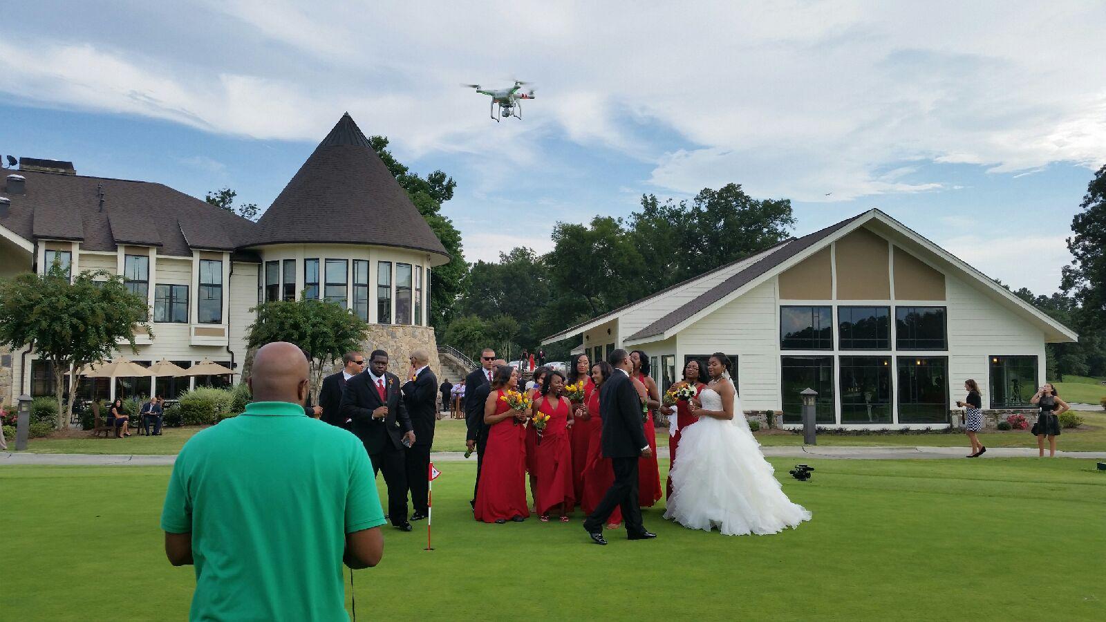 Wedding Flyover