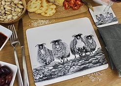 Claire Wilson Art 'Placemats'
