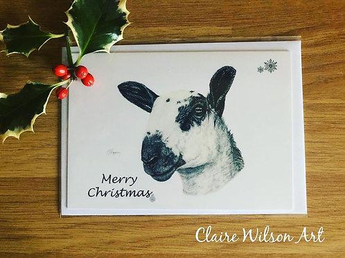 'TOPGUN' BLANK CHRISTMAS CARDS