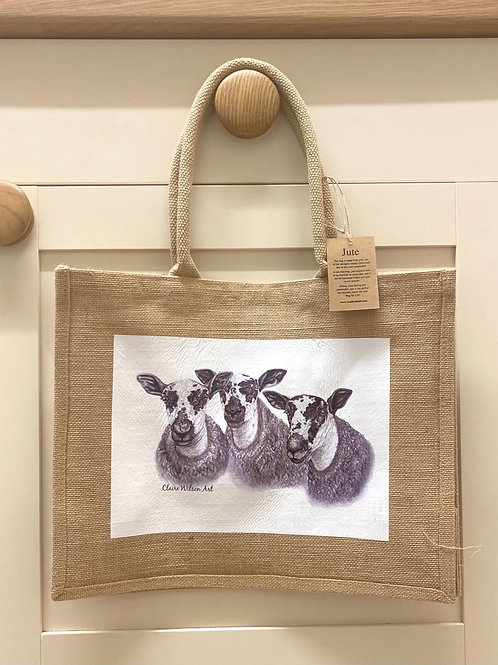 Copy of 'PUDDLES' CLASSIC JUTE BAG