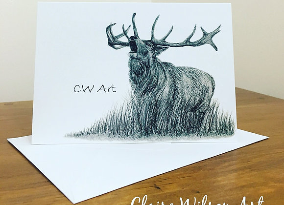 'BRAVEHEART' BLANK GREETINGS CARDS