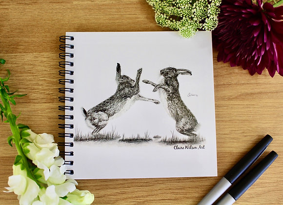 'HARE WE GO AGAIN' NOTEBOOK