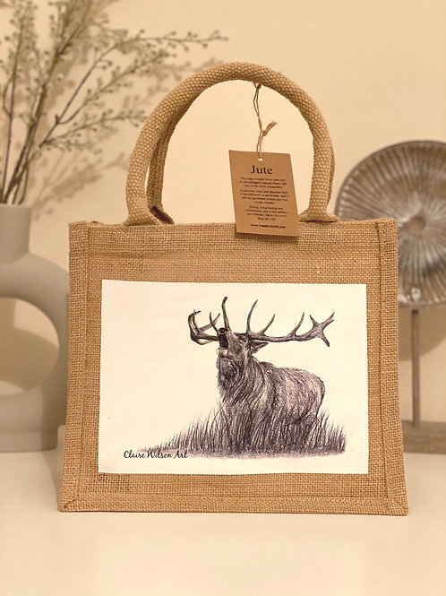'BRAVEHEART' MINI JUTE BAG