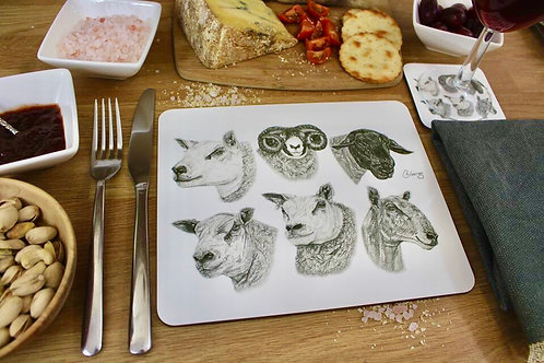 'DIFFERENT BREEDS FOR DIFFERENT NEEDS' PLACEMAT
