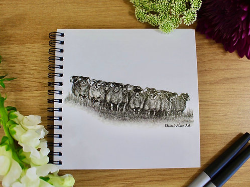 'THE GATHERING' NOTEBOOK