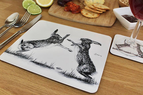 'HARE WE GO AGAIN' PLACEMAT