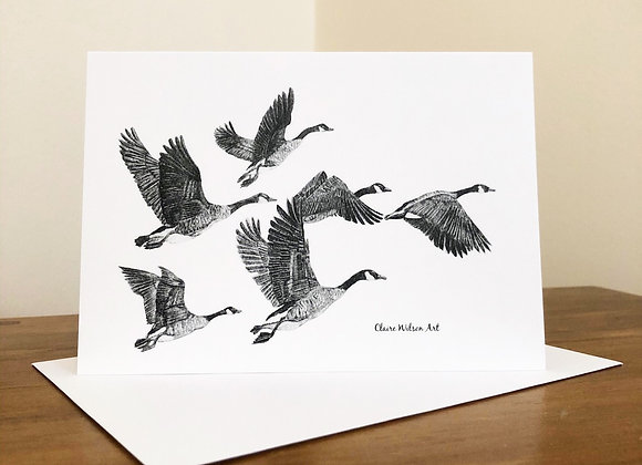 'FLY AWAY HOME' BLANK GREETINGS CARDS