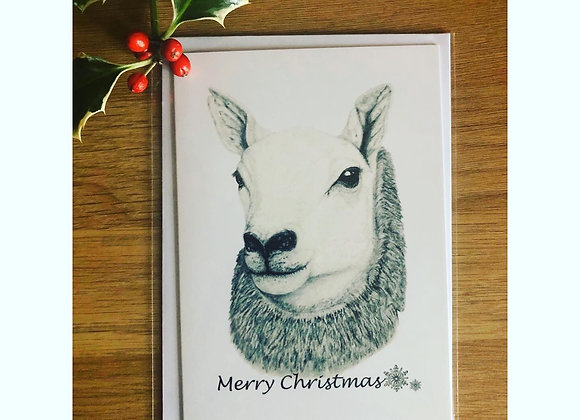 'QUEEN OF THE SOUTH' BLANK CHRISTMAS CARDS